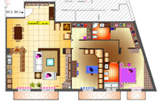 Progetti lavori giorgio pagano progettazione interni for Progetti di ristrutturazione appartamenti