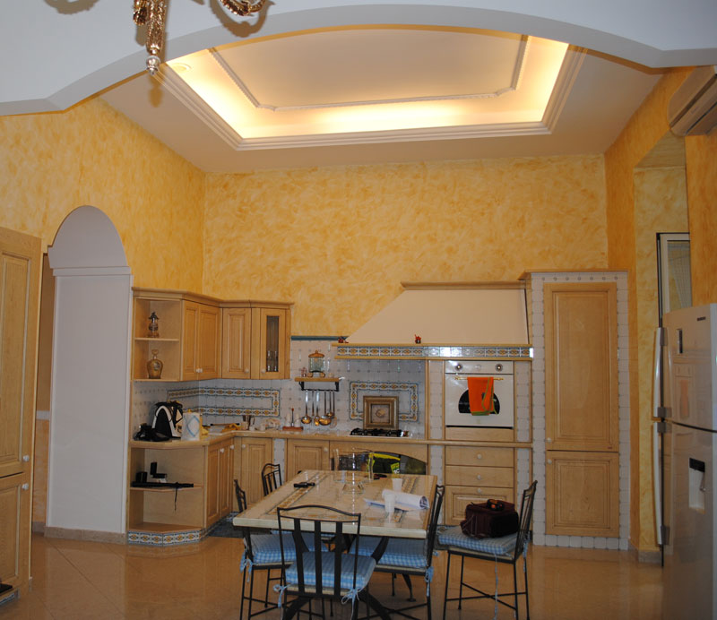 Progetti lavori giorgio pagano progettazione interni for Pitture per interni moderne foto